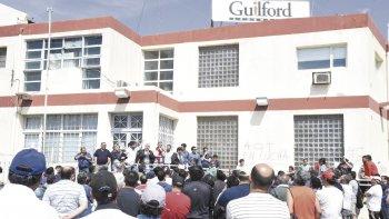 la proxima semana el apoderado de guilford recibe en rawson a los textiles