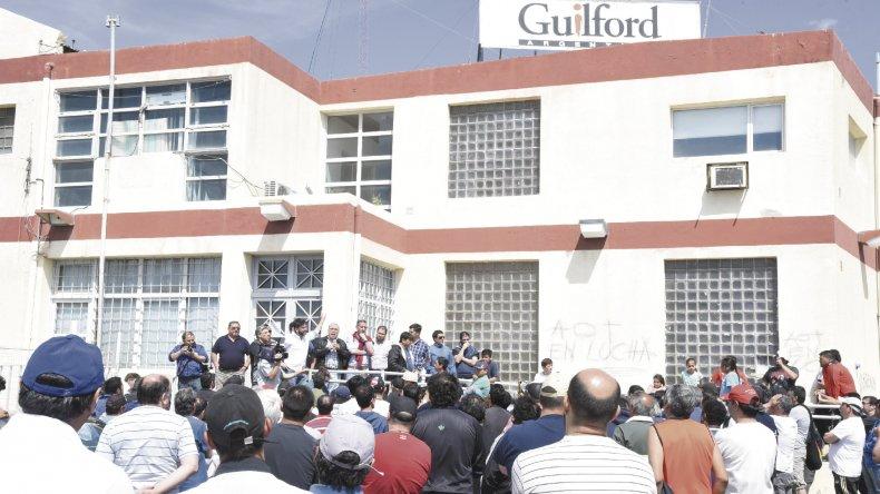 La próxima semana el apoderado de Guilford recibe en Rawson a los textiles