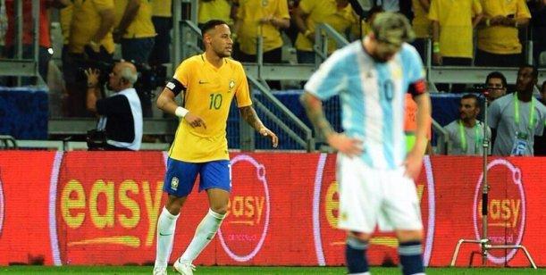 Los tuits de los famosos por la derrota de Argentina ante Brasil