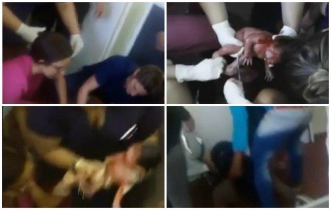 Una mujer dio a luz en el piso de la guardia del hospital Santojanni