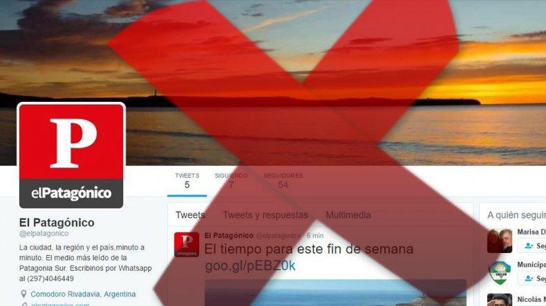 Por hackeo, miles de lectores no nos encuentran en Twitter