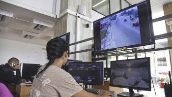 el centro de monitoreo quedaria habilitado a mediados de enero