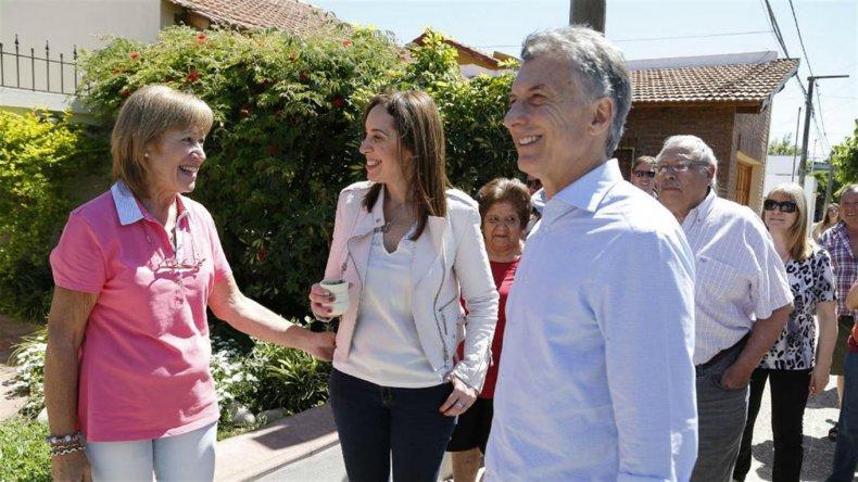 Mauricio Macri encabezó un nuevo timbreo nacional