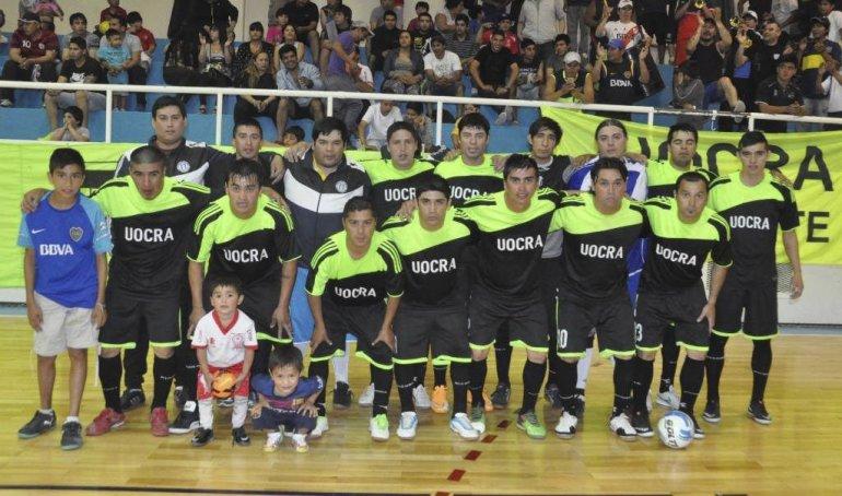 UOCRA es el campeón del fútbol de salón de Comodoro Rivadavia.