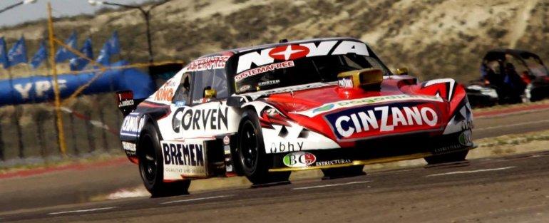 El Chevrolet de Matías Rossi que ayer conservó el mejor tiempo en el Turismo Carretera.