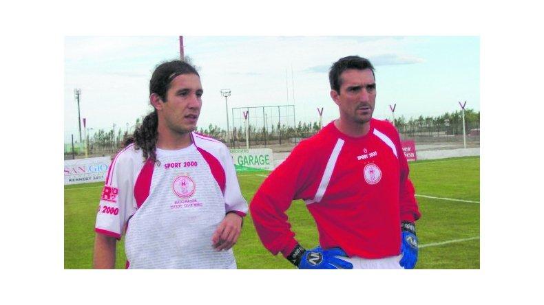 En Huracán lo tuvo como compañero a Daniel Sciutti