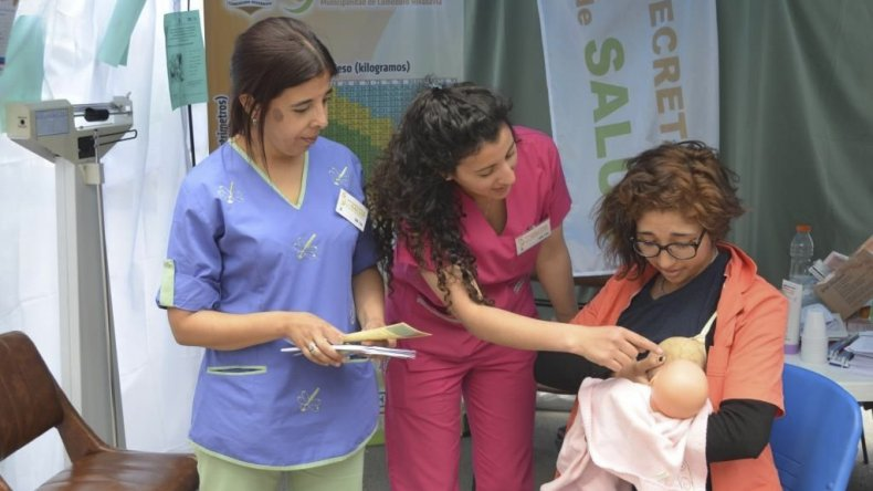 Personal municipal vinculado a las especialidades de Obstetricia