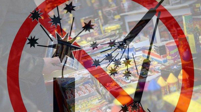 No hay avances sobre la ley que busca prohibir la venta de pirotecnia en Chubut