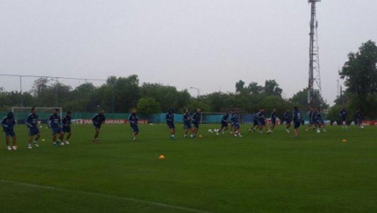 Argentina entrenó y habrá tres cambios para recibir a Colombia