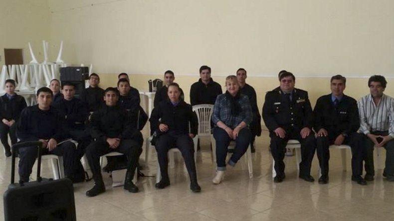 La capacitación reunió a policías de la Zona Norte de Santa Cruz.