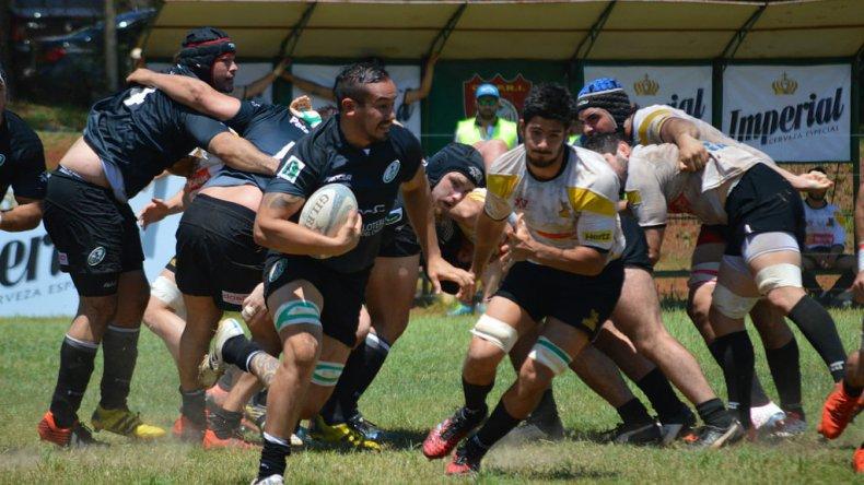 Maximiliano Díaz, capitán de Comodoro Rugby Club y campeón con la Unión de Rugby Austral.