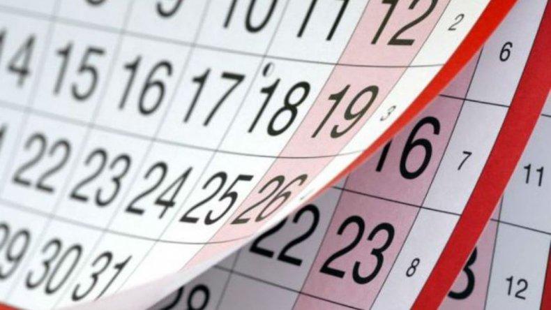 En 2017 habrá un solo feriado puente y 10 fines de semana largos