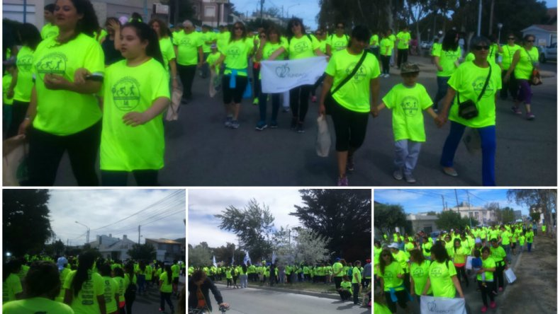 Caminata solidaria: Fundación Crecer recaudó  150 mil pesos