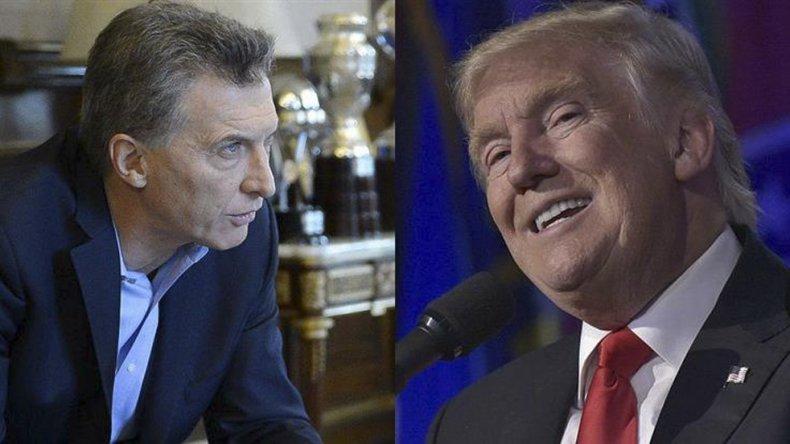 Macri y Trump mantuvieron una charla telefónica de 15 minutos.