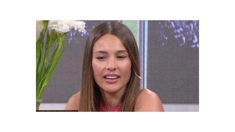 Pampita negó que sea celosa con Pico Mónaco: Él me da mucha seguridad