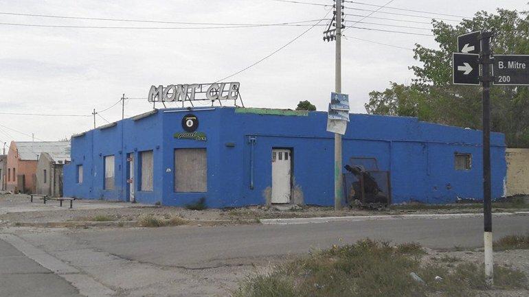 El asesinato de la joven de 25 años se produjo en el interior del bar Mont Cle de Las Heras. (Foto: Periódico de Las Heras).