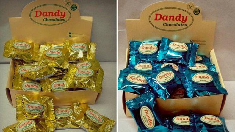 Prohíben la venta de dos tipos de chocolates para celíacos