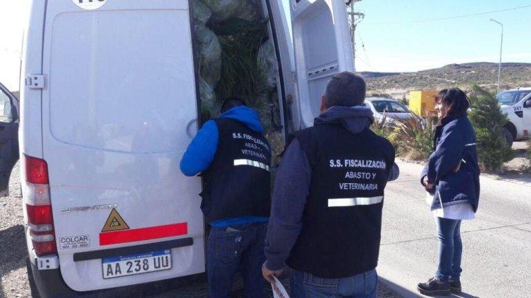 Controles en trasporte de alimentos: se labraron seis infracciones