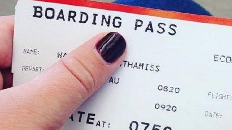 Peligro: ¿por qué no hay que publicar fotos de tickets aéreos?