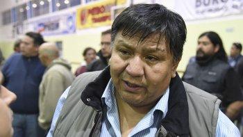 Jorge Avila, secretario general del Sindicato de Petroleros Privados Chubut.