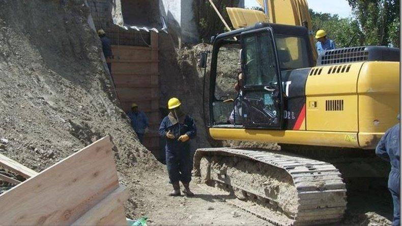 La SCPL avanza en la reparación de una reserva en Puesto La Mata