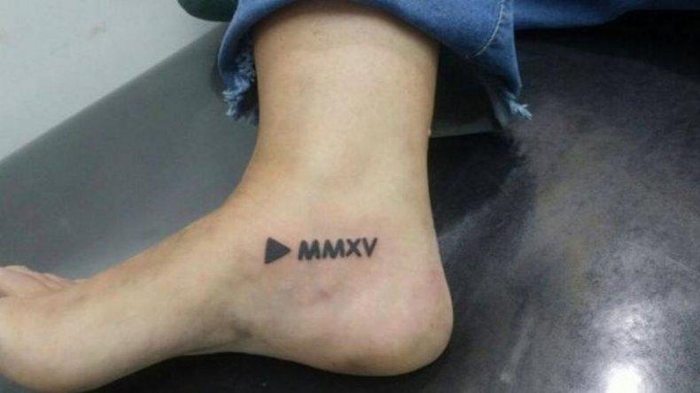 Se tatuó en homenaje a Macri y ahora quiere conocerlo