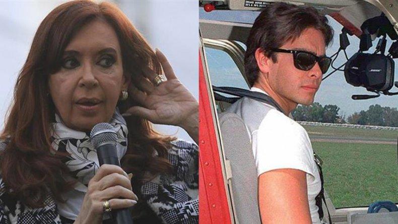 Cristina declaró en la causa que investiga la muerte del hijo de Carlos Menem.