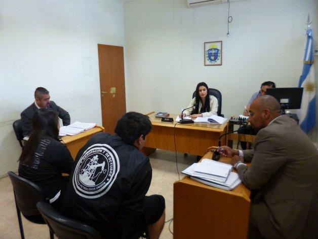 Los imputados recuperaron la libertad tras la audiencia judicial de ayer.