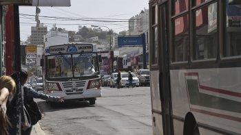 suspendieron el servicio de transporte publico