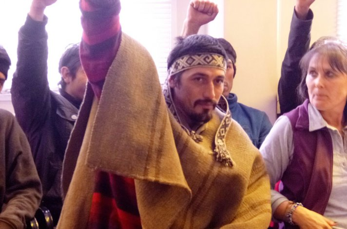 Facundo Jones Huala tenía un pedido de extradición a Chile pero fue liberado por Guido Otranto.