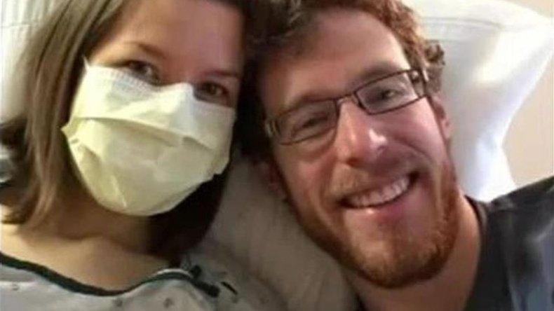 Johanna, la mujer que le tiene alergia al olor de su marido