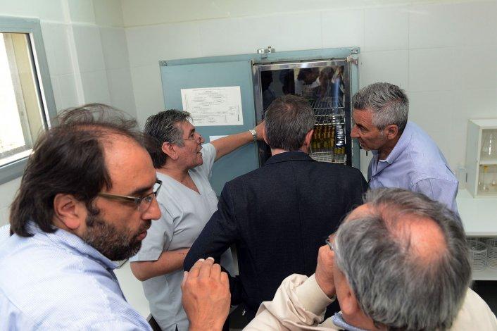 Inauguraron el nuevo edificio del Laboratorio de Aguas