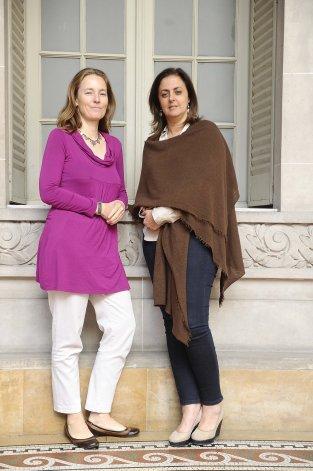 Florence Bauer y María Fernanda Rodríguez informaron acerca de la campaña Rompé el silencio.