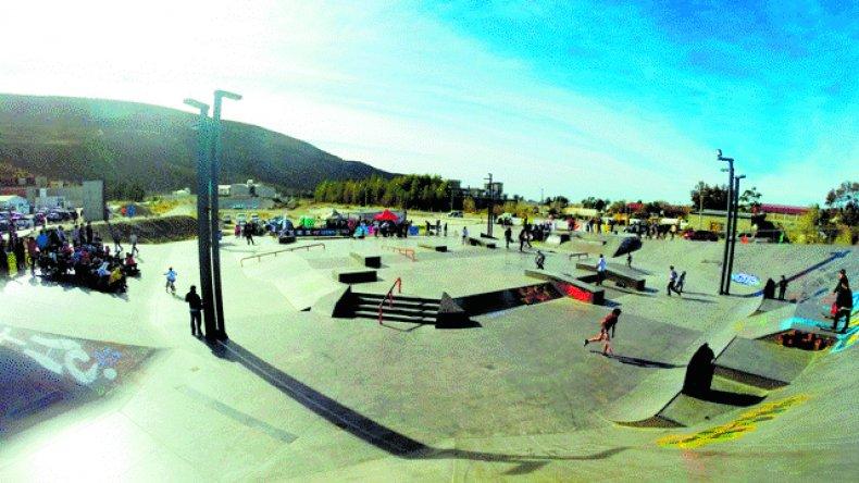 El Skate Park Municipal de Rada Tilly tendrá mucha acción hoy.