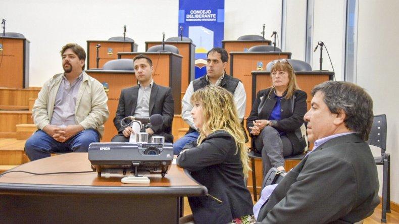 Dos minutos le bastaron a la subsecretaria Rita Cárdenas para explicar la ejecución presupuestaria del año pasado.