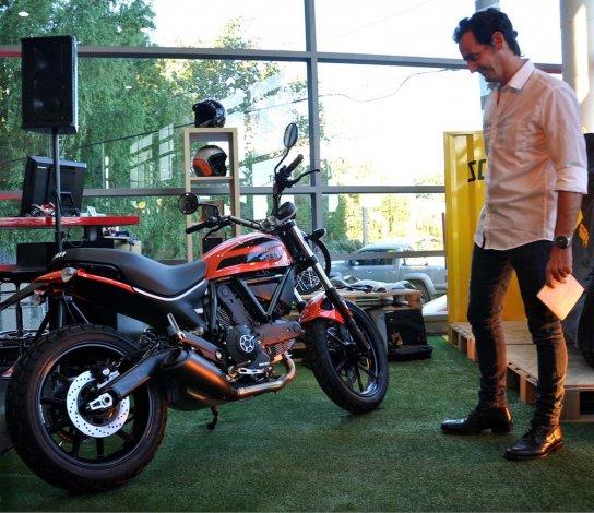 Black, Wild & Pop: múltiple lanzamiento de Ducati