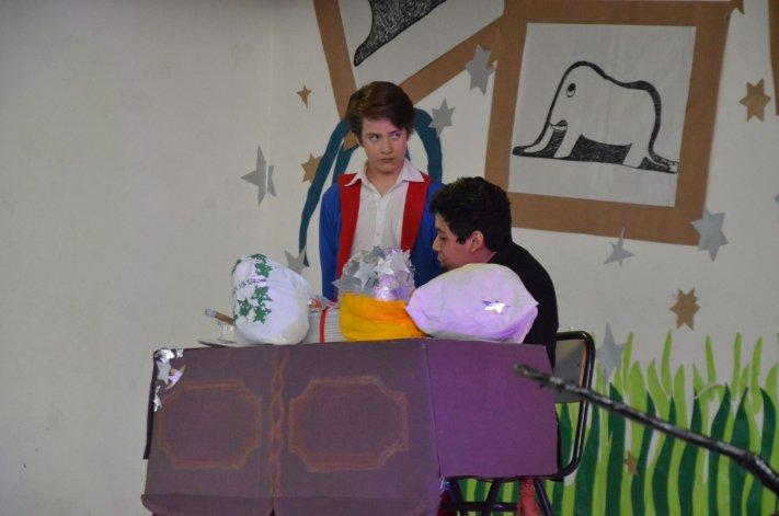 La adaptación de la obra musical El Principito realizada por estudiantes de la Escuela 723