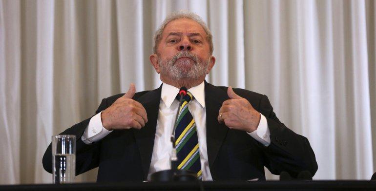 Lula arremetió contra un juez que lo investiga.
