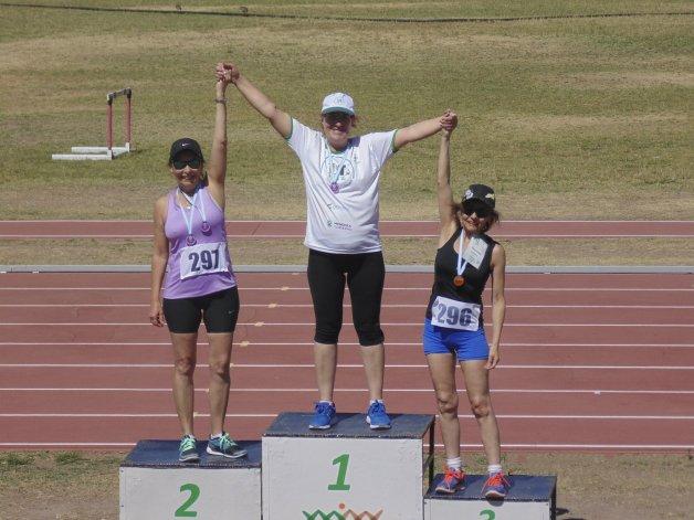 Nancy Palacios Jenks y el tercer puesto conseguido en marcha aeróbica en XI Juegos Argentinos y VIII Latinoamericanos para Trasplantados Mendoza 2016