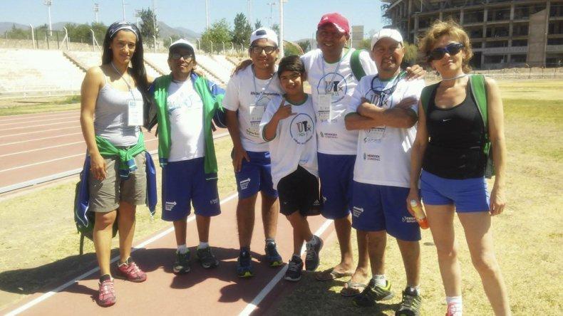 La delegación del Chubut en Mendoza.