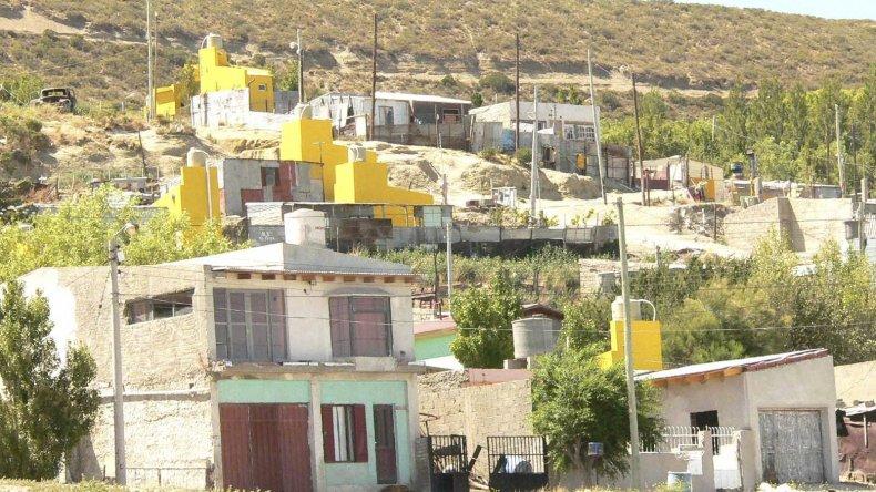 El ataque se produjo en la zona alta del barrio Máximo Abásolo.