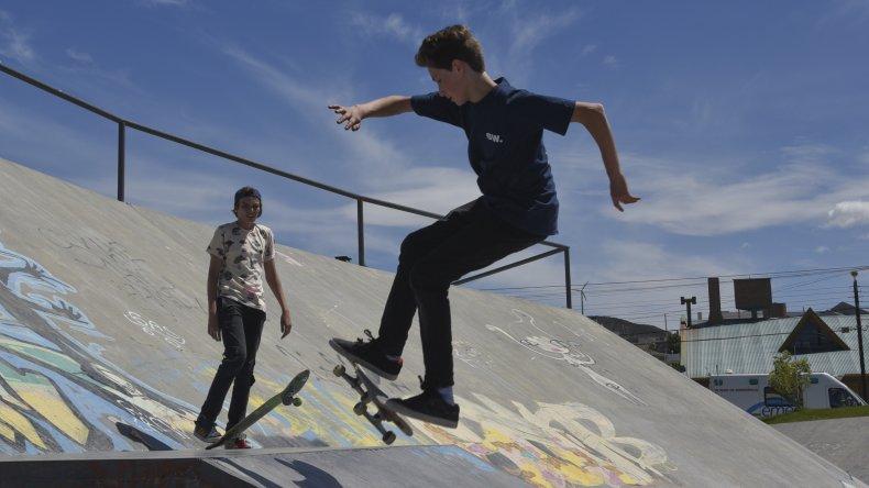 Skaters de la provincia invadieron Rada Tilly