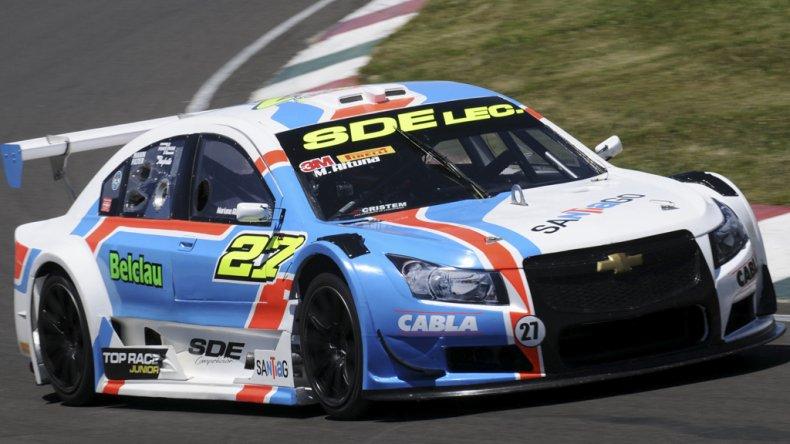 El Chevrolet de Mariano Altuna que ayer se quedó con la victoria en el circuito de Paraná.