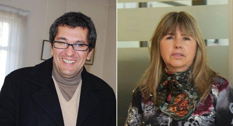 Gastón Acevedo y Rosana Uriarte  competirán en Comodoro por  el Comité Departamental de la UCR