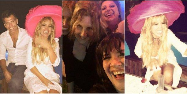 Las divertidas fotos del cumpleaños de Flor Peña: Que el amor valga la risa