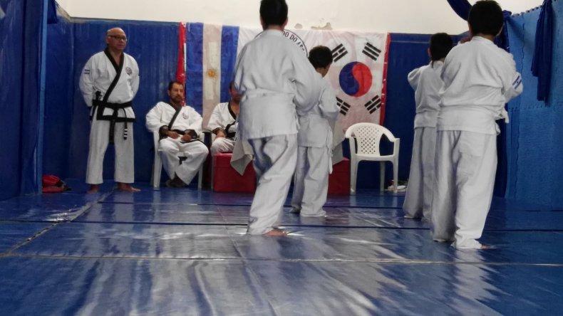 Comodoro tuvo su primer examen de Tang Soo Do