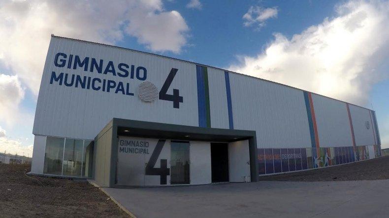 Mañana inauguran el Gimnasio Municipal 4 de Zona Norte