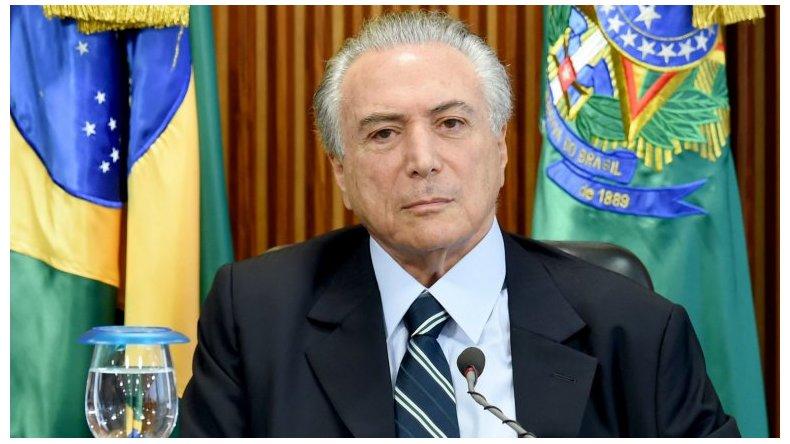 Michel Temer propone más ajuste en Brasil.