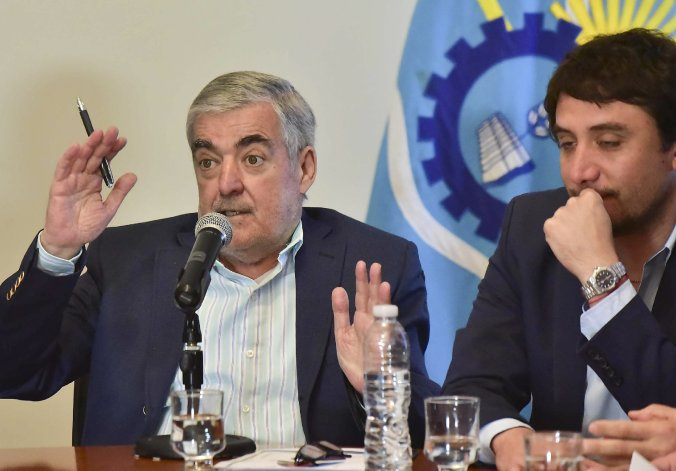 Mario Das Neves brindó ayer una conferencia de prensa.