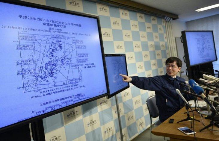 Japón levantó el alerta de tsunami tras el fuerte terremoto de 7,4 grados